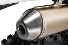 2019 2-Stroke Exhaust Detail